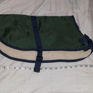 Dog winter coat size m. Like new
